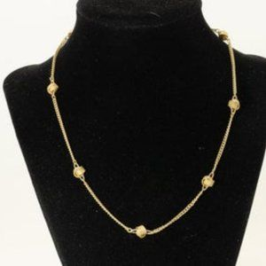 Vintage Avon Gold Knot Necklace
